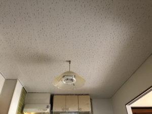 ジプトーン天井 塗り替え